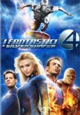 La copertina DVD di I Fantastici 4 e Silver Surfer