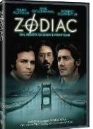La copertina DVD di Zodiac