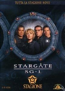 La copertina DVD di Stargate SG-1 - Stagione 9