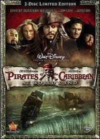 La copertina DVD di Pirati dei Caraibi - Ai confini del mondo (2 DVD)