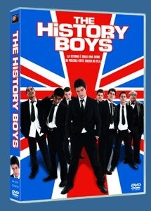 La copertina DVD di The History Boys