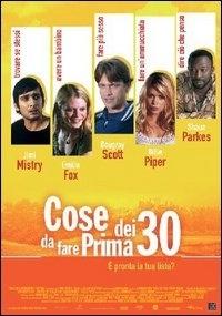 La copertina DVD di Cosa fare prima dei trenta