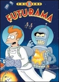 La copertina DVD di Futurama - Stagione 3