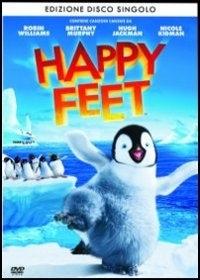 La copertina DVD di Happy Feet