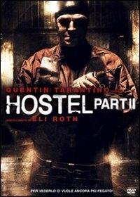 La copertina DVD di Hostel: Part II