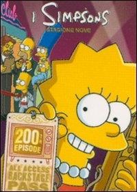 La copertina DVD di I Simpson - Stagione 9