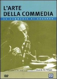 La copertina DVD di L'arte della commedia