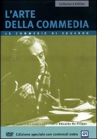 La copertina DVD di L'arte della commedia - Collector's Edition