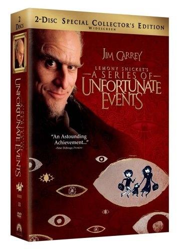 La copertina DVD di Lemony Snicket's A Series of Unfortunate Events (2-Disc SE)