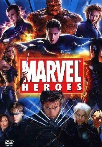 La copertina DVD di Marvel Heroes Cofanetto (10 Dvd)
