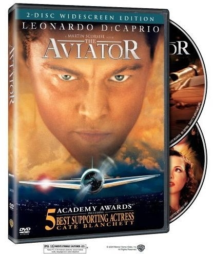 La copertina DVD di The Aviator