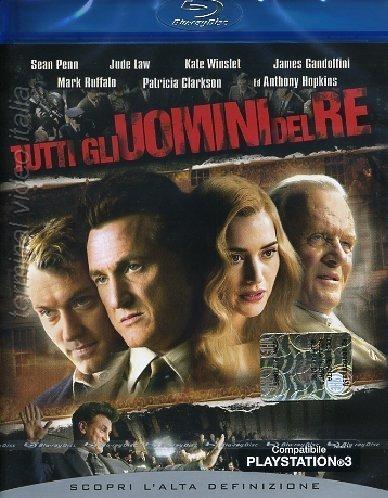 La copertina DVD di Tutti gli uomini del re