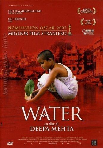 La copertina DVD di Water