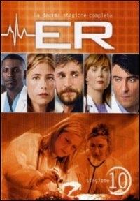 La copertina DVD di E.R. - Medici in prima linea, Stagione 10