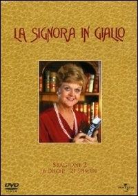 La copertina DVD di La Signora in Giallo - Stagione 2