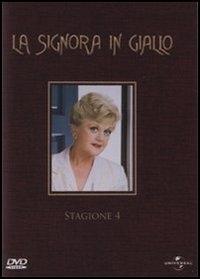 La copertina DVD di La Signora in Giallo - Stagione 4