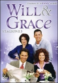 La copertina DVD di Will & Grace - Stagione 3