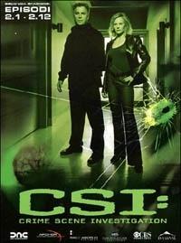 La copertina DVD di CSI - Scena del crimine - Stagione 2 - Parte 1