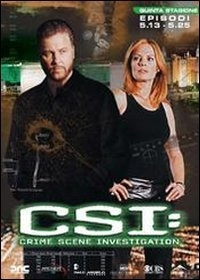 La copertina DVD di CSI - Scena del crimine - Stagione 5 - Parte 2