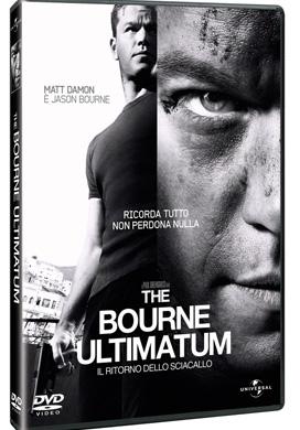 La copertina DVD di The Bourne Ultimatum - Il ritorno dello sciacallo