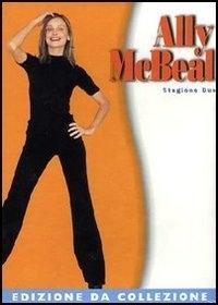 La copertina DVD di Ally McBeal - Stagione 2