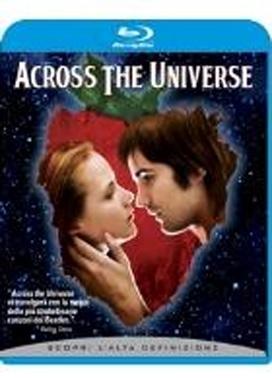 La copertina DVD di Across the Universe (Blu-ray)