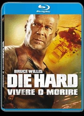 La copertina DVD di Die Hard - Vivere o morire (Blu-Ray)