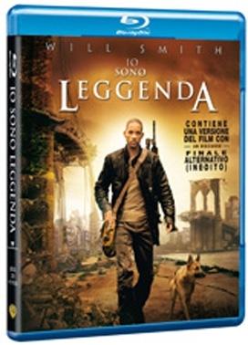 La copertina DVD di Io sono leggenda (Blu-Ray)