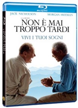 La copertina DVD di Non è mai troppo tardi (Blu-Ray)