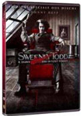 La copertina DVD di Sweeney Todd - Il diabolico barbiere di Fleet Street - Ed. speciale