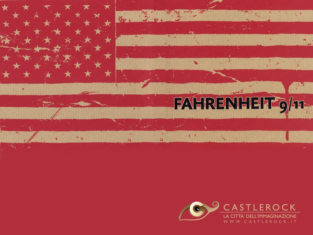 Wallpaper del film Fahrenheit 9/11