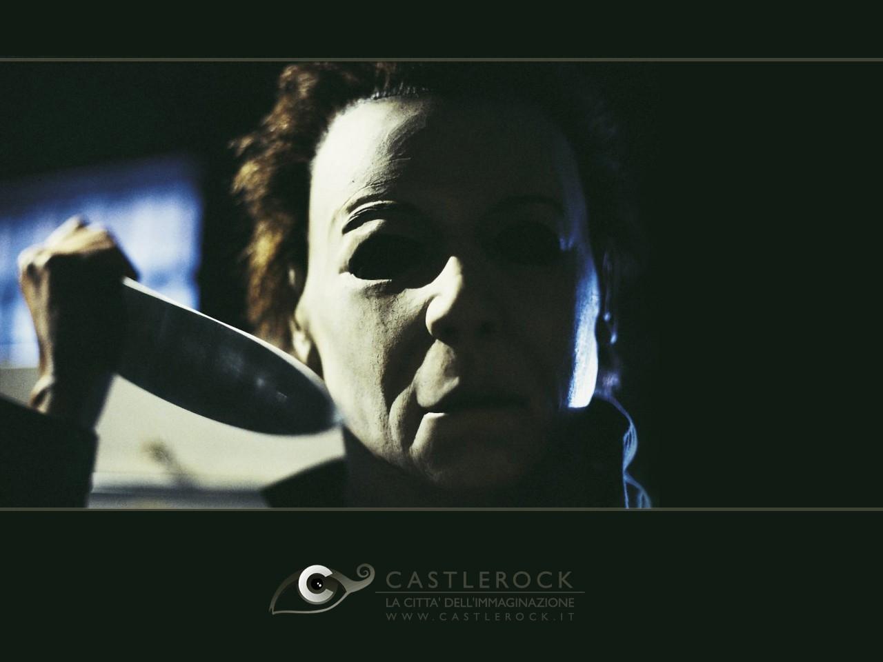 Wallpaper del film Halloween la resurrezione