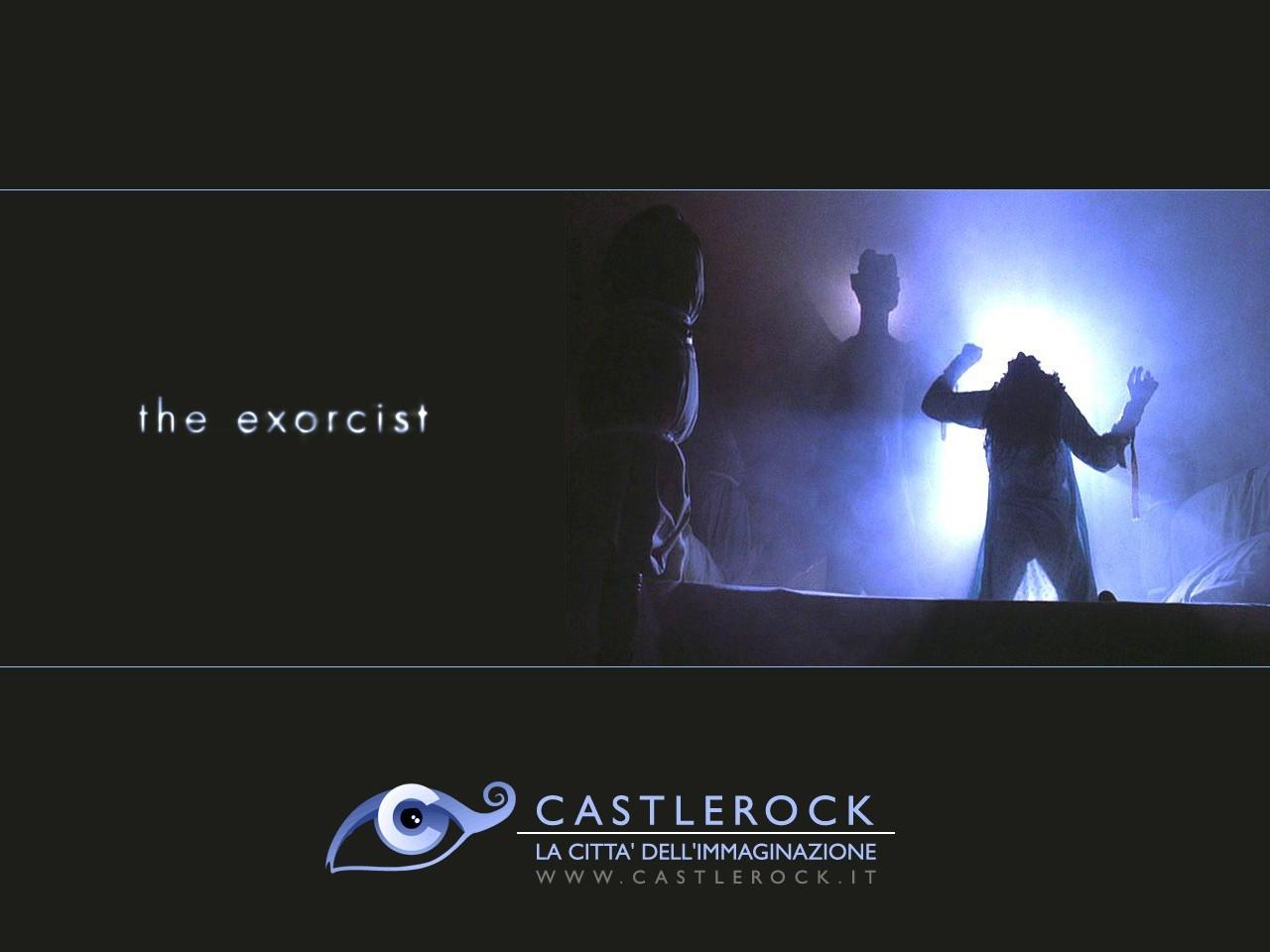 Wallpaper del film L'esorcista con il demone Pazuzu