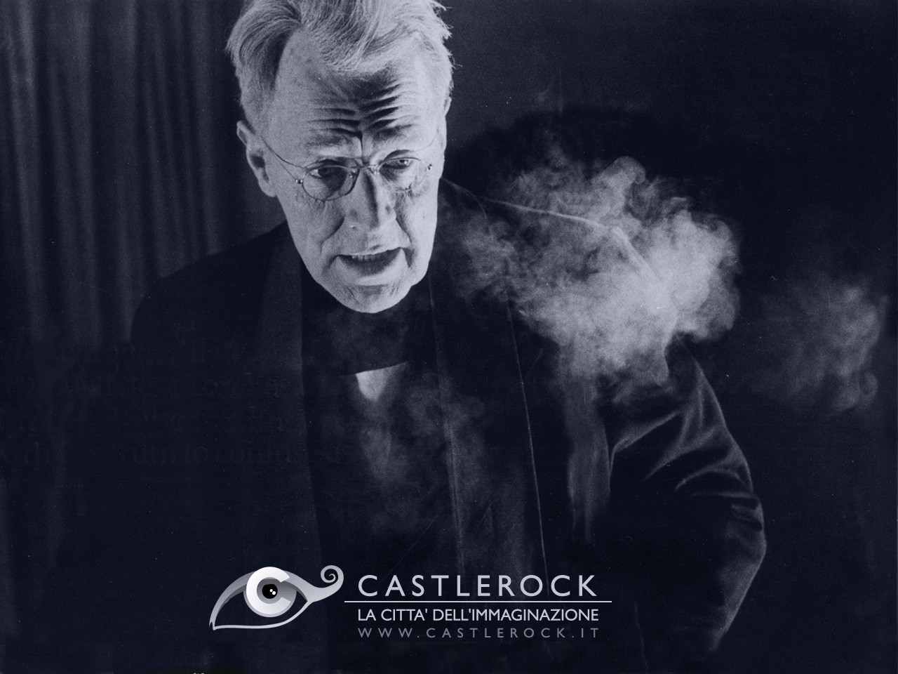 Wallpaper del film L'esorcista con Max von Sydow