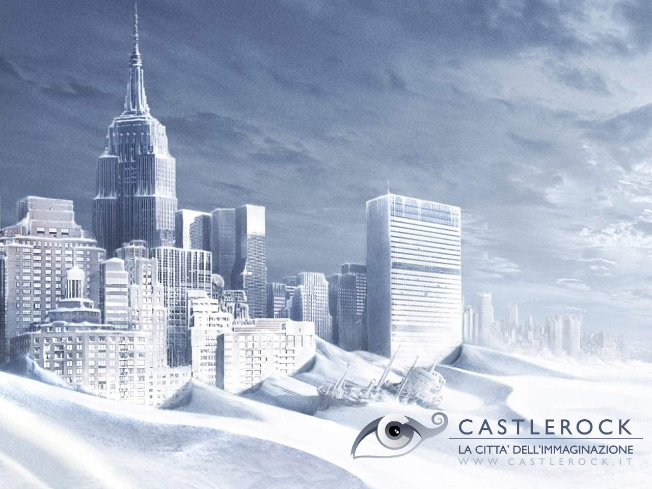 Wallpaper del film The Day After Tomorrow - L'alba del giorno dopo