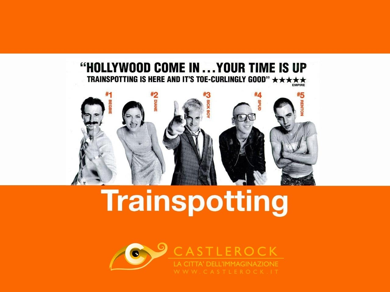 Wallpaper del film Trainspotting
