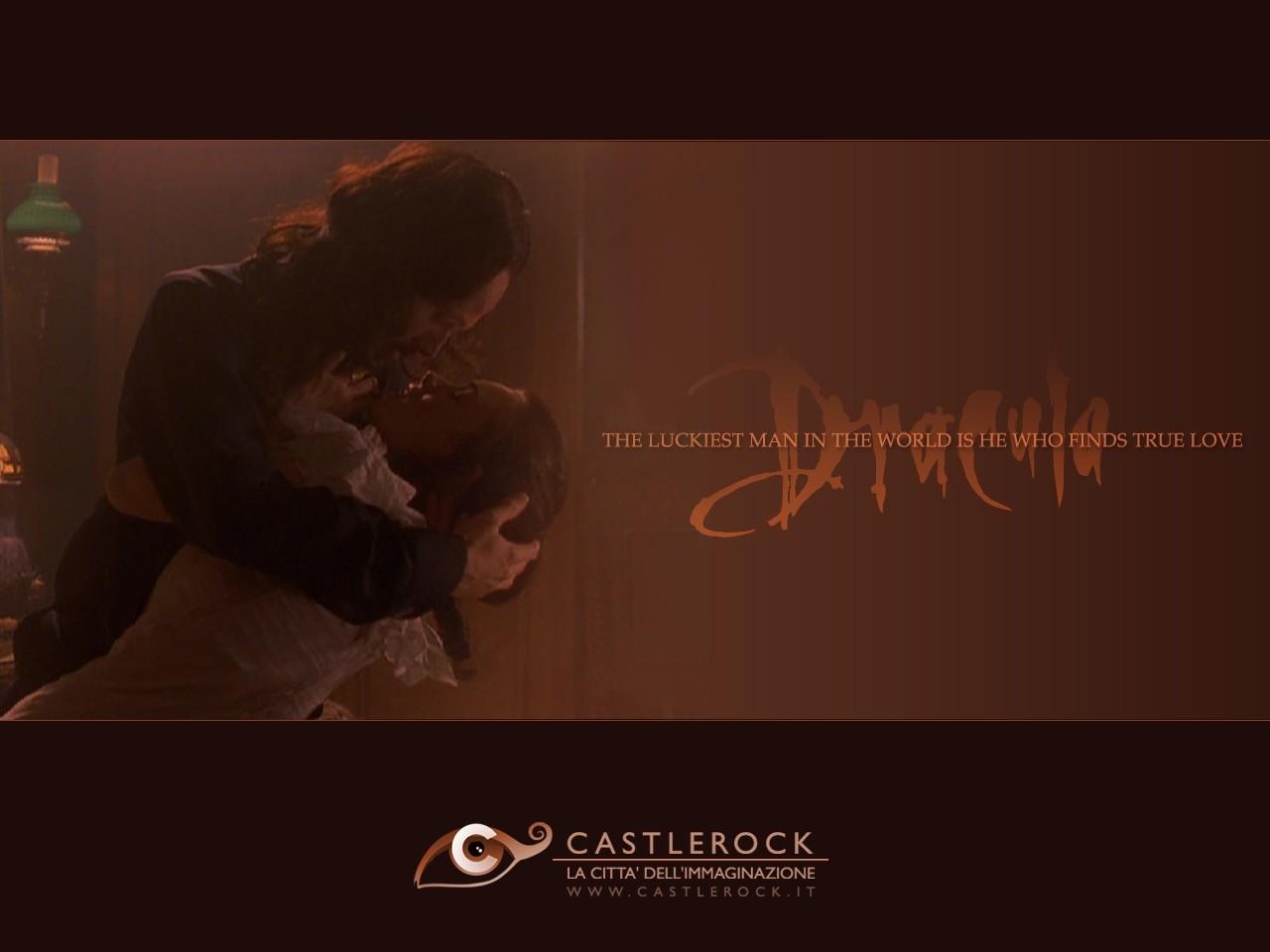 Wallpaper del film Dracula con i due amanti