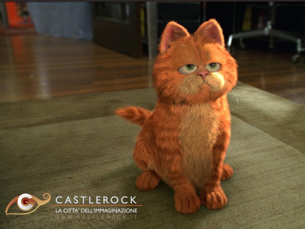 Wallpaper del film Garfield: il film