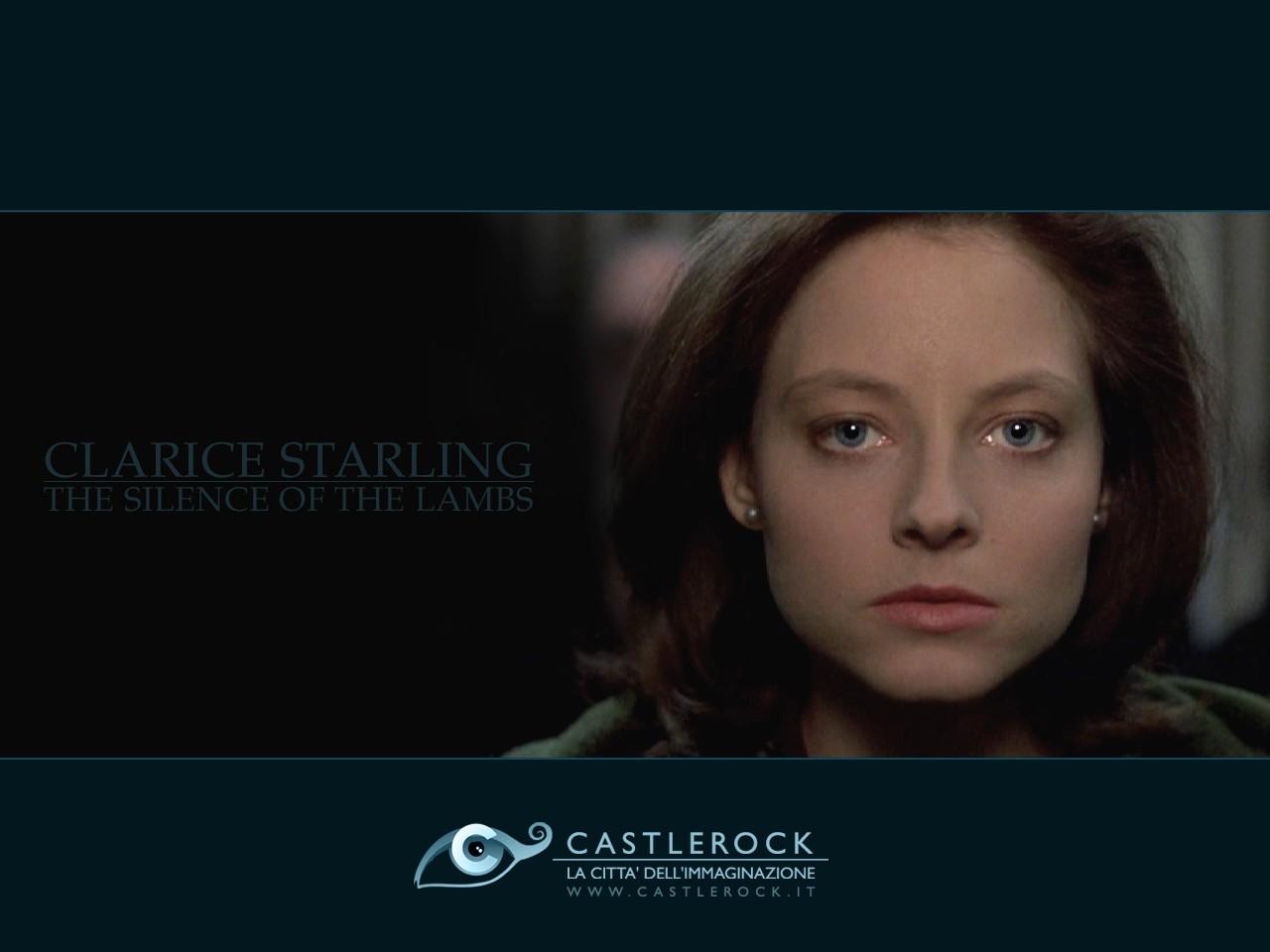 Wallpaper de Il silenzio degli innocenti con Jodie Foster