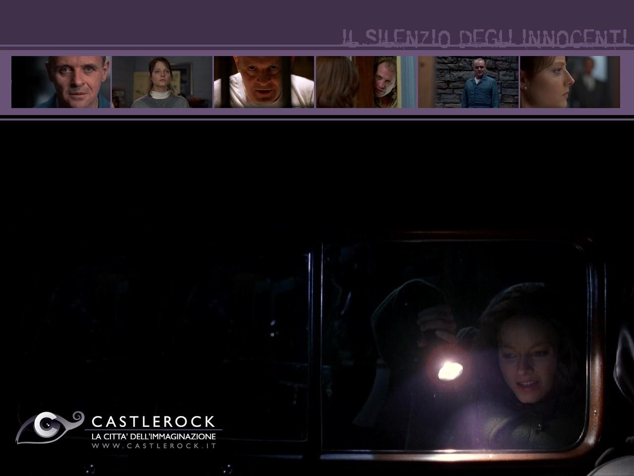 Wallpaper del film Il silenzio degli innocenti con Jodie Foster
