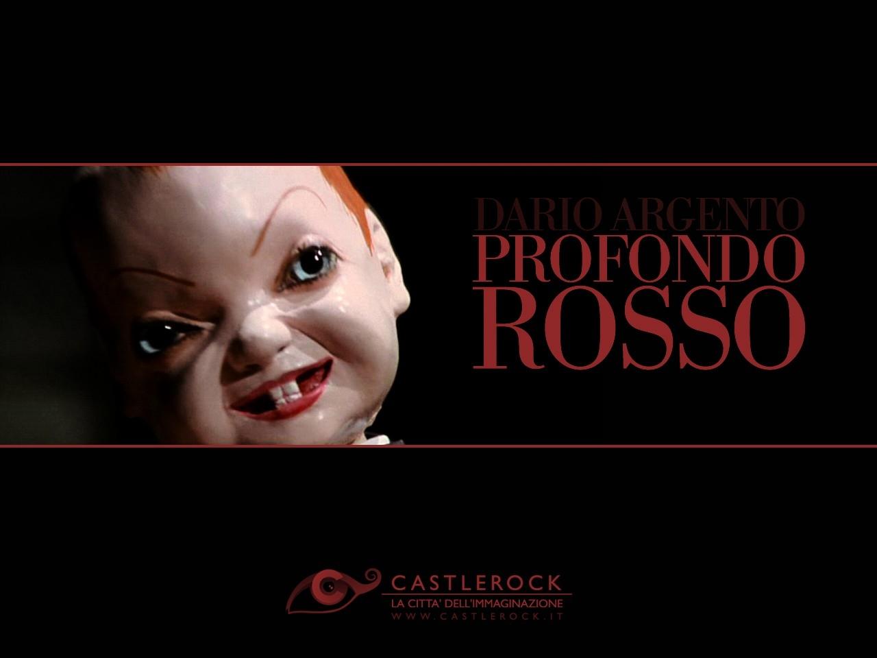 Wallpaper del film Profondo Rosso di Dario Argento