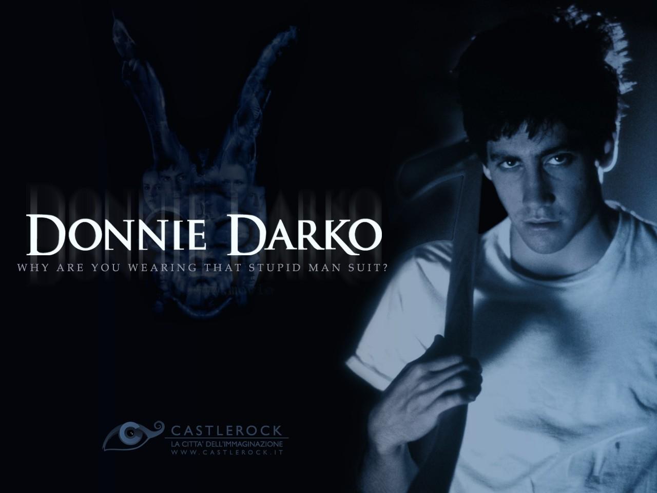 Wallpaper del film Donnie Darko con Jake Gyllenhaal