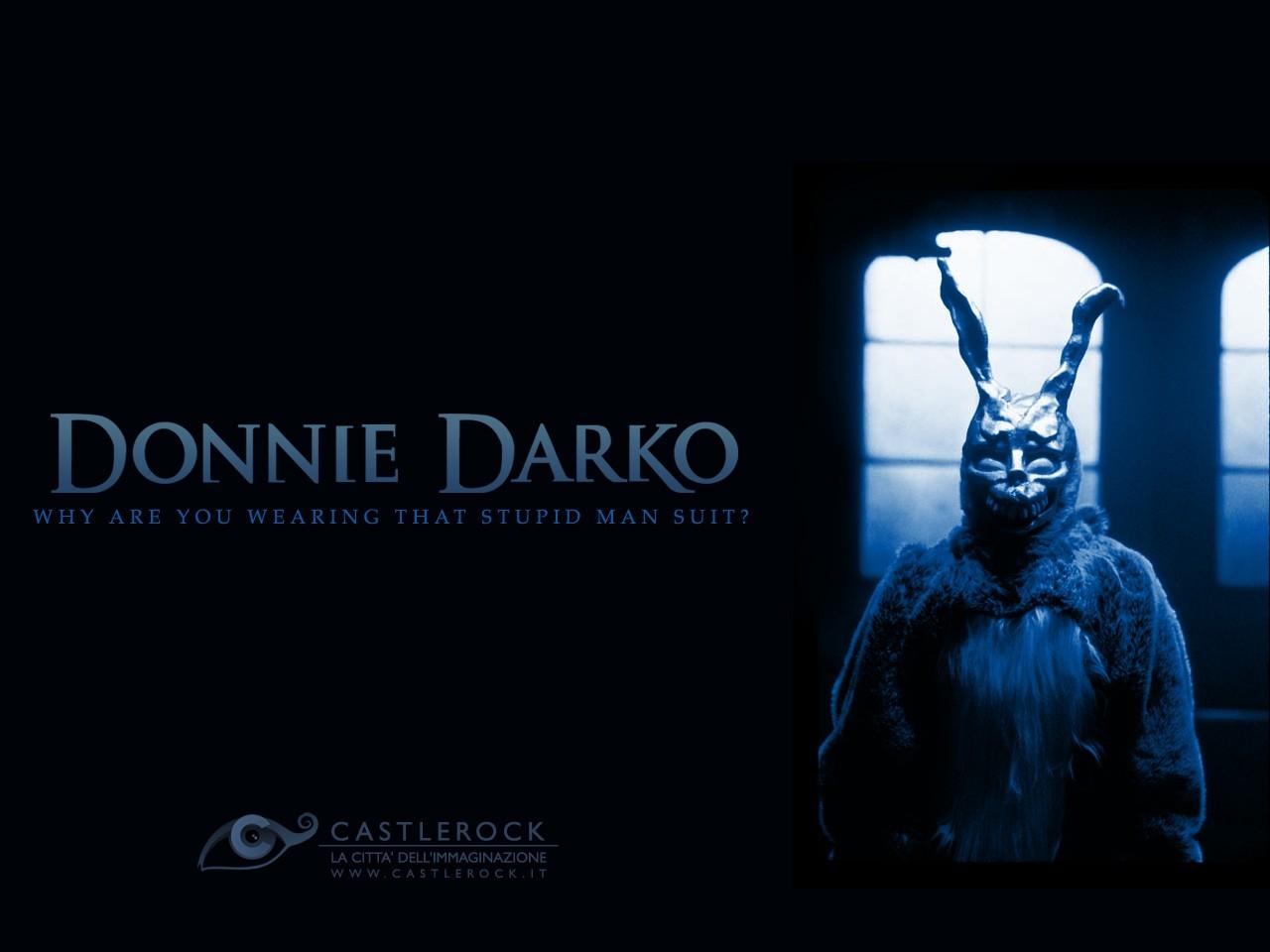 Wallpaper del film Donnie Darko con Frank
