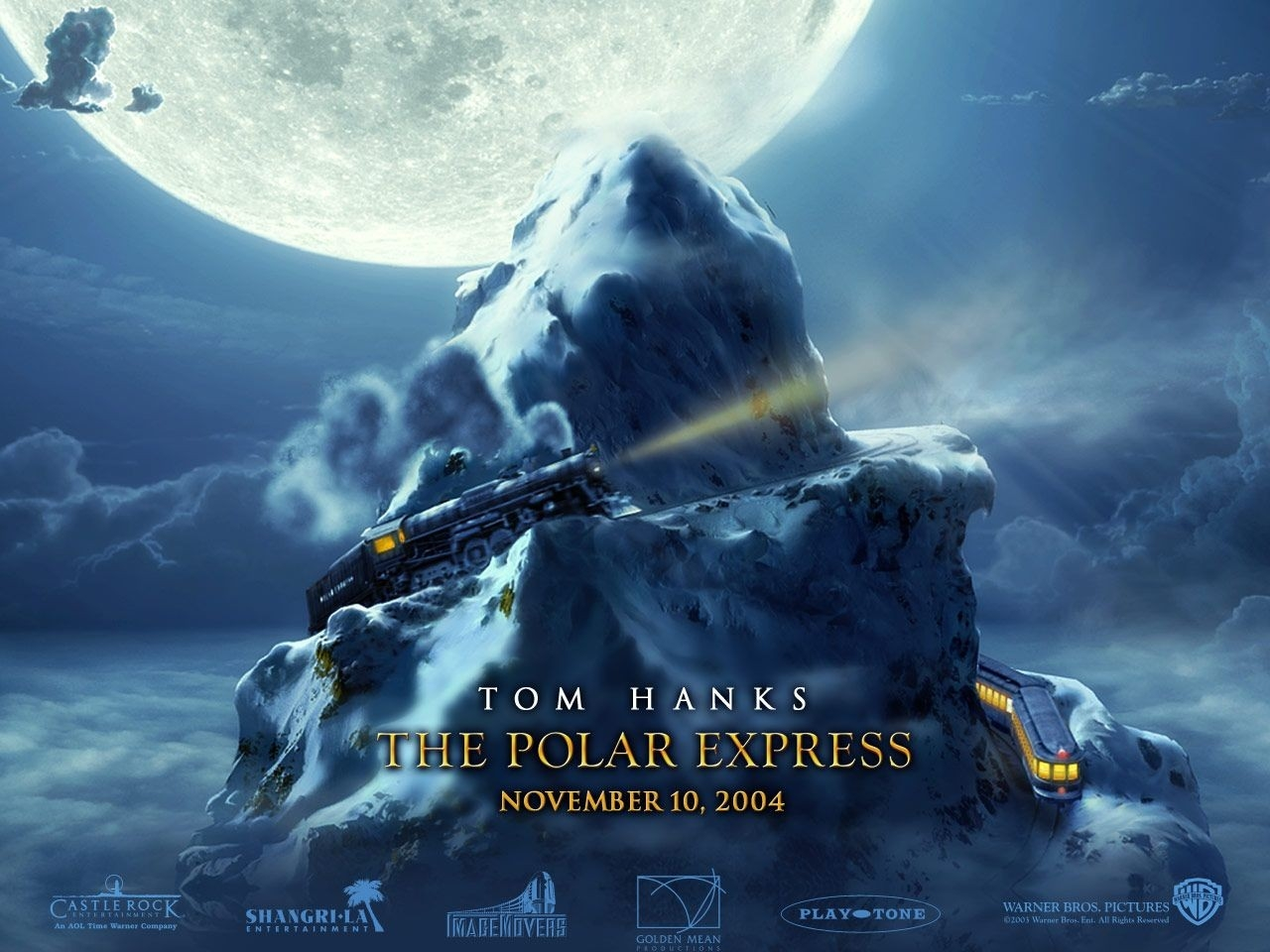Wallpaper del film Polar Express