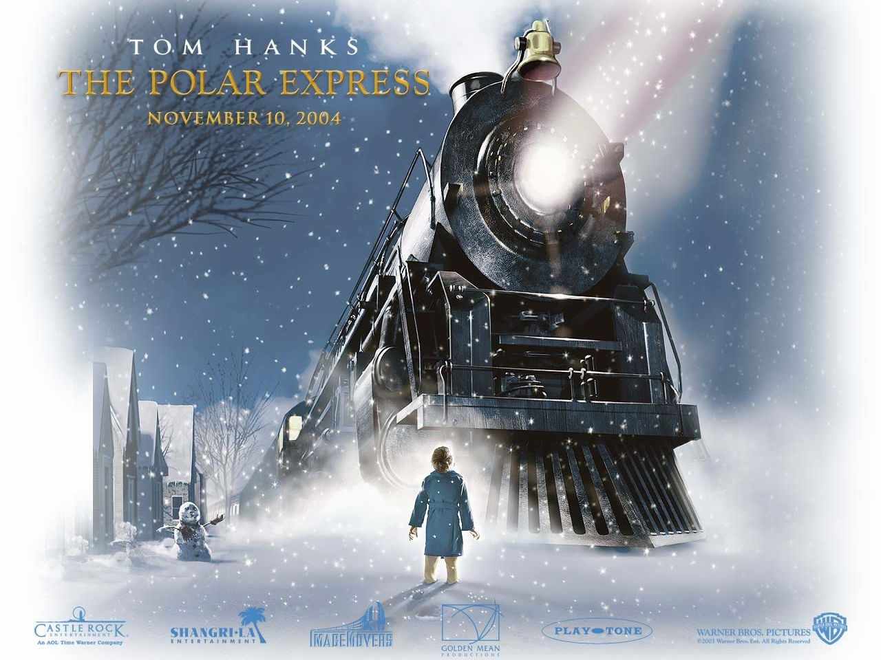 Wallpaper del film Polar Express diretto da Robert Zemeckis