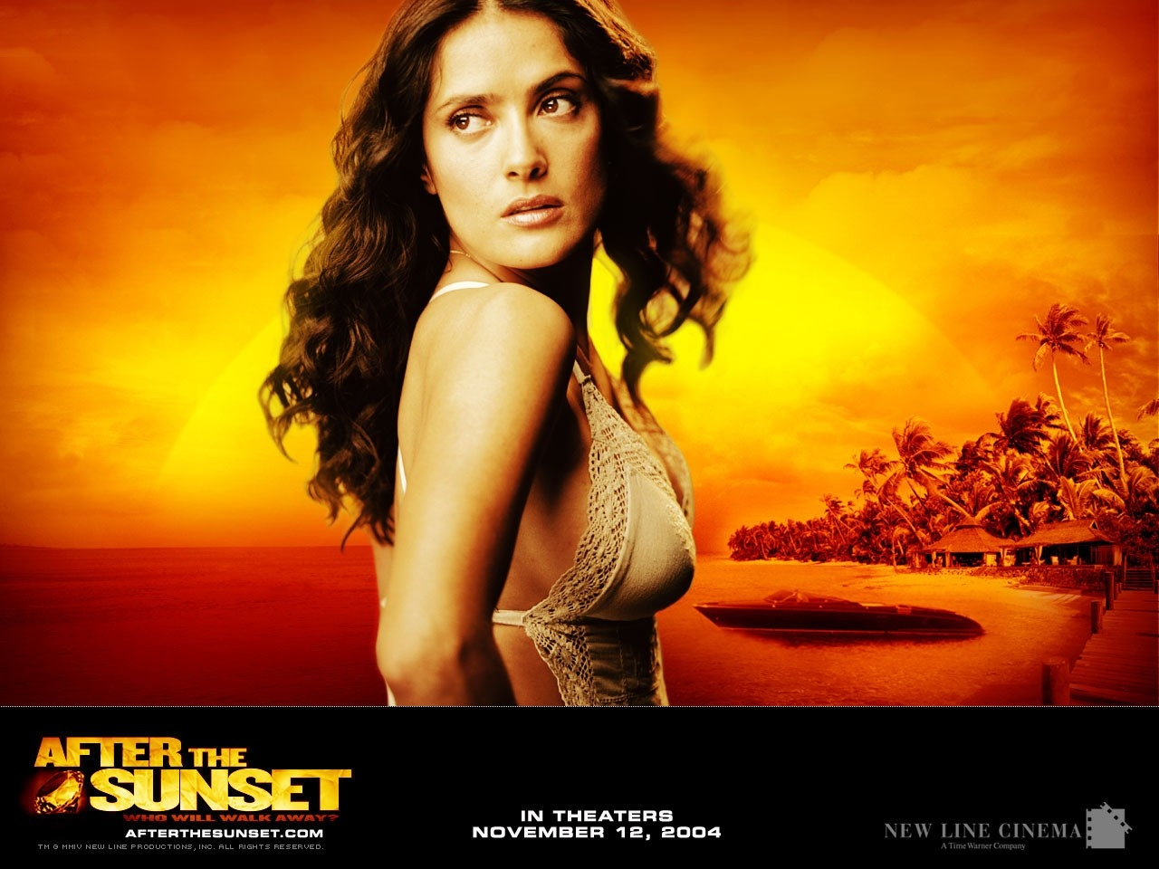 Wallpaper del film After the Sunset