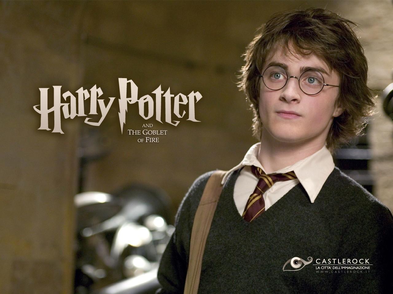Wallpaper del film Harry Potter e il calice di fuoco con Daniel Radcliffe