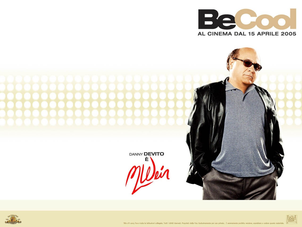 Wallpaper del film Be Cool
