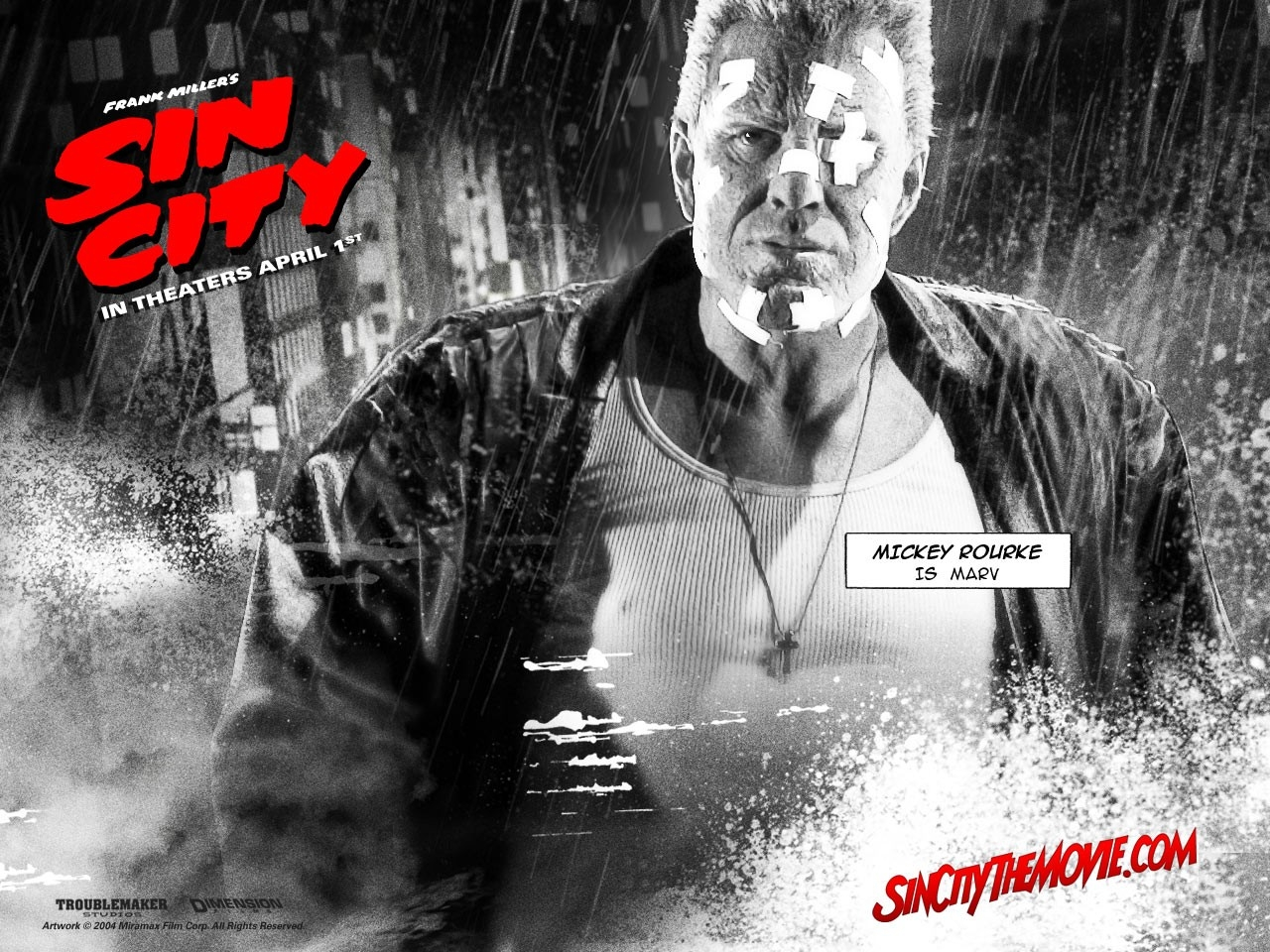 Wallpaper del film Sin City