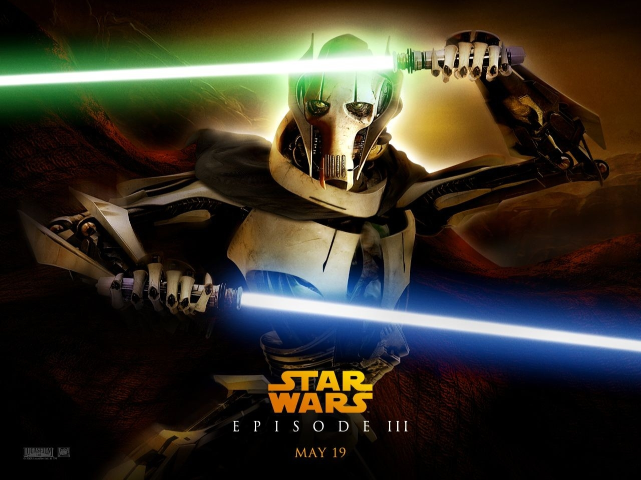 Wallpaper del film Star Wars ep. III - La vendetta dei Sith - 5